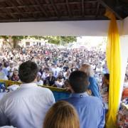 Julio Cezar foi anfitrião da celebração que reuniu 40 mil romeiros em Canafístula