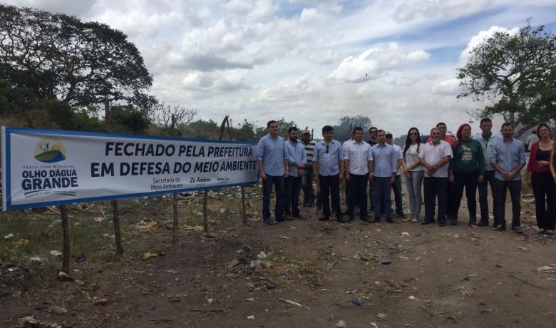 Resíduo gerado pelo município de Olho d´Água Grande será enviado para a Central de Tratamento localizada em Craíbas