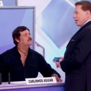 Carlinhos Aguiar abordou homem do baú no salão do Jassa, mas foi dispensado
