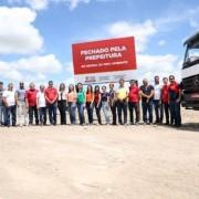 Solenidade de encerramento do lixão do município de Campo Alegre com representantes do Governo de Alagoas, a exemplo do Instituto do Meio Ambiente (IMA) e autoridades da gestão da cidade