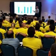 Antônio Santiago palestrou sobre as ações em andamentos, planejamento estratégico e desafios da Seagri