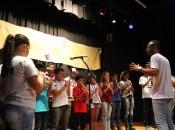 Abertura do festival ficou por conta das crianças e adolescentes dos bairros Manoel Teles e Bom Sucesso