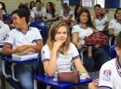 Além do ensino integral, a Escola Graciliano Ramos disponibiliza 120 vagas para o ensino médio integrado aos cursos profissionalizantes de secretariado escolar e ludoteca
