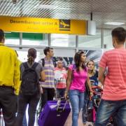 Crescimento também é verificado no fluxo total de passageiros, entre nacionais e internacionais, do Aeroporto Internacional Zumbi dos Palmares