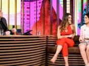 """Larissa Manoela gravou uma participação no """"Conversa com Bial"""""""