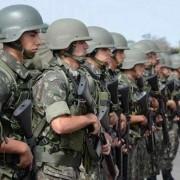 © Valter Campanato/ Agência Brasil Com isso, toda a responsabilidade pelas ações das forças estaduais de segurança passa a ser do Exército, que lidera a Operação Potiguar III