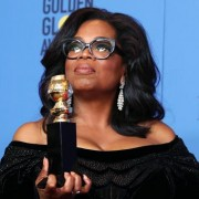 Oprah Winfrey fez discurso impactante no Globo de Ouro (foto: EPA)