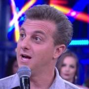 Luciano Huck no programa do Faustão, 07/01/2018