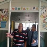 Visita aconteceu na quinta-feira (11), e o Provedor do hospital – Médico Pedro Gaia fez questão de percorrer todos os corredores e setores da Unidade Hospitalar para que os visitantes pudessem ter ideia de como está o Hospital