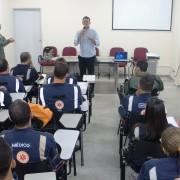 Curso tem duração de seis dias e está sendo ministrado pelos instrutores da Chefia Aérea Especial de Segurança Pública