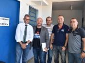 Ricardo Nazário mostrou as imagens da TV Pajuçara, que comprovaram que o agente administrativo abriu a carceragem.