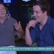 Moacyr Franco e Rafael Cortez