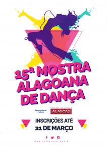 15ª Mostra Alagoana de dança - Inscrições Abertas