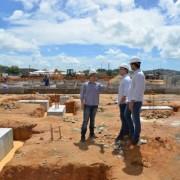 Obras do Hospital Regional do Norte, em Porto Calvo, estão com 11% dos serviços concluídos Keila Oliveira