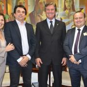 Célia Rocha visita Brasília  e  foi recebida por diversas lideranças, numa clara demonstração de seu prestígio político.
