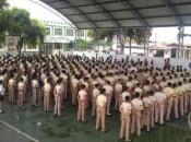 Mais de 700 alunos, do 6° ano do fundamental a 3ª série do ensiono médio, estão matriculados no Colégio Tiradentes em Maceió (Fotos: Regina Carvalho)