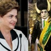 Dilma lava alma através do carnaval carioca