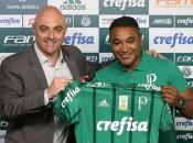 Adidas fornece materiais esportivos ao Palmeiras desde 2006. Contrato acaba em dezembro (Foto: Cesar Greco) Foto: LANCE!