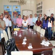 Solenidade de doação do terreno em Penedo para a Ufal aconteceu na sede da Prefeitura.Foto: Ascom Prefeitura de Penedo