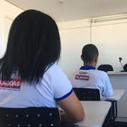 Adolescentes que cumprem medidas socioeducativas ficaram nas primeiras colocações em concurso nacional de redação (Foto: Ascom/Seprev)
