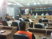 Câmara de Maceió realiza audiência pública para discutir tremor de terra na cidade (Foto: Marcos Rolemberg/G1)