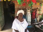 A líder espiritual Mãe Vera, atualmente, acolhe vinte pessoas que chegaram em situação de completa vulnerabilidade social.  Ascom Semudh