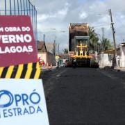Entrega da pavimentação asfáltica de Pilar Foto: Márcio Ferreira