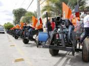 Entrega de equipamentos agrícolas em Santana do Ipanema Foto: Thiago Sampaio
