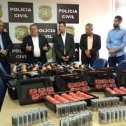 Equipamentos foram adquiridos com recursos do Fundo Estadual de Segurança Pública. Ascom
