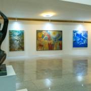 Na 3ª edição do Saca, 60 artistas nacionais participaram da mostra. Adalberto Farias