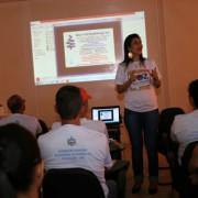 Oficina ensina técnicas para cuidar da voz (Fotos: José Demétrio)