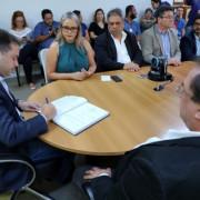 Laura Souza é empossada como nova titular da Secretaria de Educação.  Márcio Ferreira