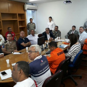 Estiveram presentes na reunião representantes da Seplag, da Secretaria de Estado da Segurança Pública (SSP) e da Secretaria de Estado da Fazenda (Sefaz). Foto: Severino Carvalho