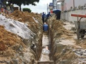 Obras já começaram e, quando estiverem concluídas, vão beneficiar aproximadamente 360 mil pessoas. Arquivo/Ascom Casal