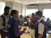 Equipes do Procon visitaram Caixa Econômica, Banco do Brasil, Itaú e Bradesco Foto: Ascom Procon