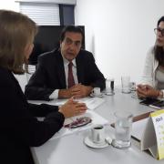 Reunião com Rogério Abdalla, Secretário de Gestão do Trabalho e da Educação na Saúde