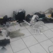 Material apreendido na ação Foto: Ascom PCAL