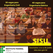 30 vagas para Engenharia Civil
