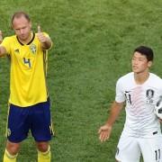 Suécia vence Coreia do Sul